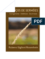 Sermões  - Rubens Giglioni Rosenhein