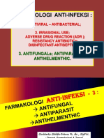 Farmakologi Anti-Infeksi- 3 Antifungal - Antiparasit