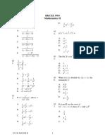 1983 Mathematics Paper2