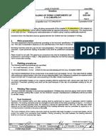 P91 welding and PWHT procedure