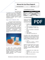 Manual de Aplicacion Placa Degesch