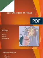 316. Disorders of Pleura