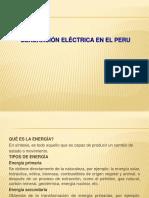 251272547 1 Generacion Electrica en El Peru Pptx