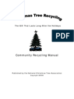 Christmas Tree Recycling Manual