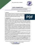 Alerta Epidemiológica Leptospirosis Marzo2017