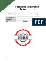 Pen testing formats for Enterprises