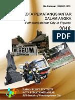 Kota Pematangsiantar Dalam Angka 2016