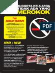 Flyer Tidak Merokok_15x21cm