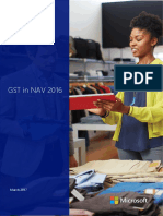 GST NAV 2016 Setup  for India