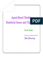 Agents and Statistics