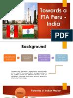 Fta Peru India
