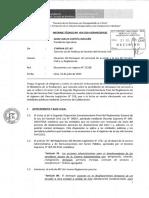 PERÚ RÉGIMEN CAS Informelegal 0454 2014 Servir 2016
