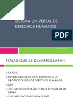 Sistema Universal de Derechos Humanos 2014