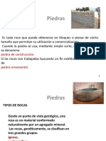 Clase 9a Piedras