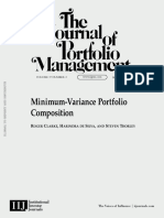 Minimum-Variance Portfolios Composition