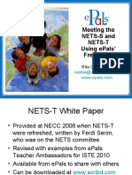 Six NETS-S Standards + Six Student Projects