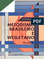 Metodismo Brasileiro e Wesleyano
