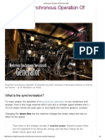 Synchronous Generator -Operation of Generator _ EEP
