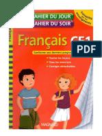 Cahier Du Jour Cahier Du Soir Fran Ais Ce1
