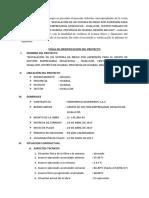 Ultimo Inspección de Campo Al 61.2 % de avance físico