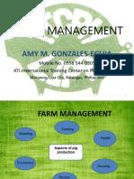 Swine Management- Eg's