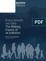 Every Breath We Take the Lifelong Impact of Air Pollution-Report of a Working Party-February 2016