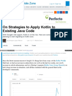Dzone Com Articles on Strategies to Apply Kotlin to Existing