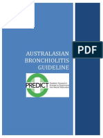 PREDICT Australasian Bronchiolitis Guideline 29 March 2016 Draft1