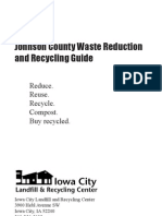 Johnson County IA Waste Reduction and Recycling Guide