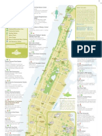 Compost Green Map of Manhattan NY