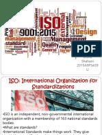 International Organization of Standardizations
