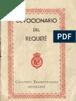 1936.08.05 Devocionario Del Requeté