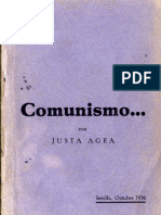 1936.10 Comunismo. Justa Agea