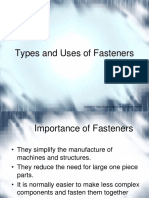 Types of Fasteners