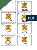 Plantilla Blucher España/ Template for Blucher Spanish army