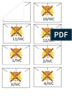 Plantilla Blucher España/Template for Blucher, spanish army.
