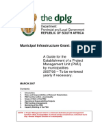 PMU Guideline March 2007