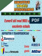 Esmeril Skil Mod 9003 Usado en Excelente Estado (1)