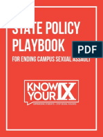 Know Your IX Policy Playbook Web Version