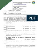 Informe Yolinda Junio