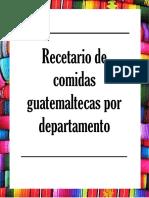 Recetas de Guatemala 2