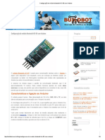Configuração Do Módulo Bluetooth HC-06 Com Arduino
