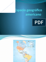 Espacio Geográfico Americano - Ficha II y III