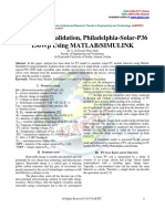 PV Module Validation, Philadelphia-Solar-P36