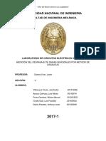 Informe Medición Del Desfasaje de Ondas Senoidales Por Método de Lissajous