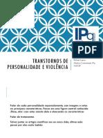 Transtornos de Personalidade e Violência