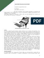 Parti Principali Del Pianoforte