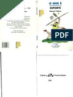 1999_O Que é Esporte_Livro