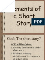 Whiteselements of a Short Story