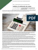 La Importancia Del Análisis y La Estimación de Costos _ Contabilidad _ Actualidad _ ESAN